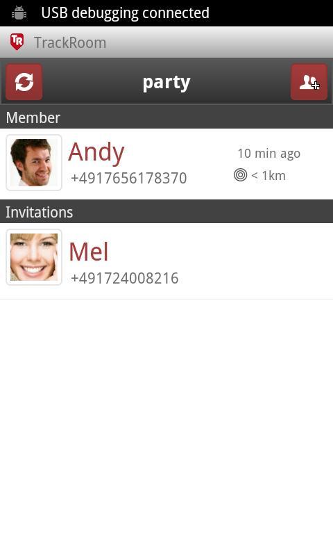 TrackRoom - screenshot