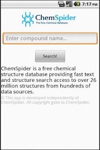 ChemSpider Search