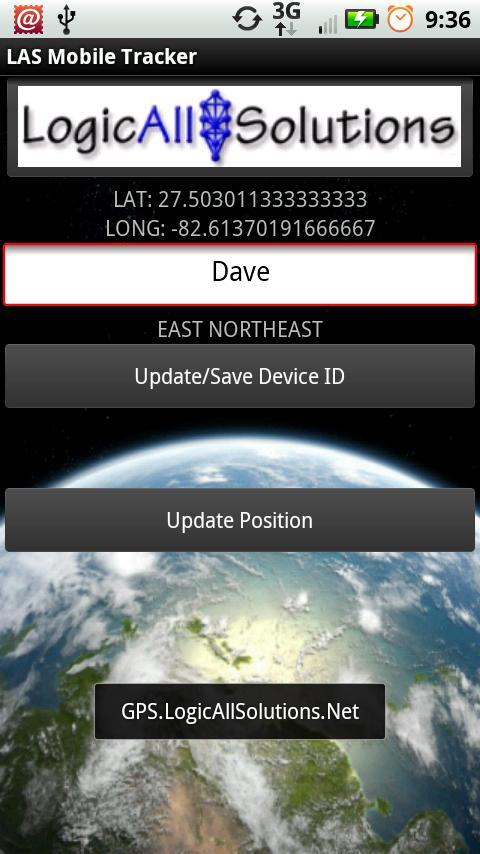LAS MobileTracker XS- screenshot