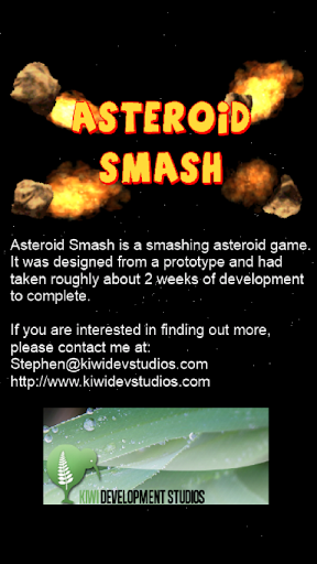 【免費模擬App】Asteroid Smash-APP點子