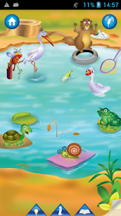 Animal Pond- Kids Draw & Paint - screenshot thumbnail