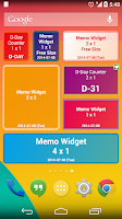 Screenshot of D-Day Counter & Memo Widget