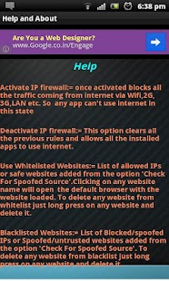 IPspoofing Detector & Firewall- screenshot thumbnail