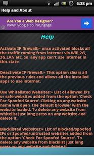 IPspoofing Detector & Firewall - screenshot thumbnail
