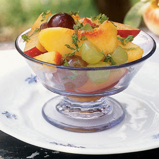 Fruit Medley with Mint and Lime