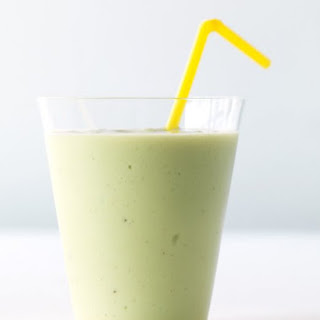 Avocado-Banana Smoothie.