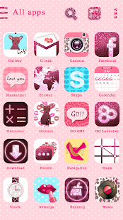 Pretty Girl GO Launcher Theme - screenshot thumbnail