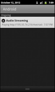 Audio Streaming - screenshot thumbnail