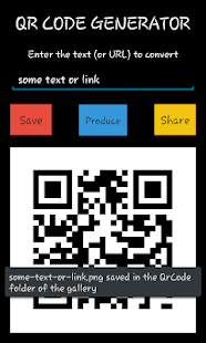 QR Code Generator - screenshot thumbnail