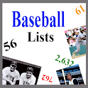 Baseball Lists icon