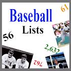 Baseball Lists icon