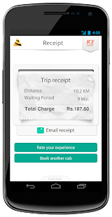 Meru Cabs - screenshot thumbnail