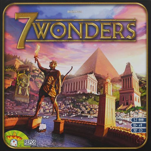 7 Wonders Score Card