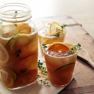 Citrus Thyme Iced Tea
