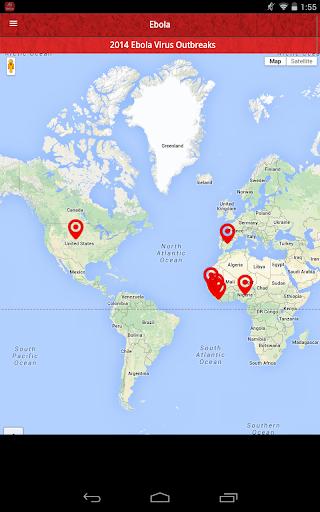 Ebola Virus News Tracker