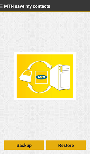 MTN Save my contacts