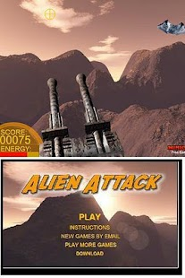 AlienAttack- screenshot thumbnail