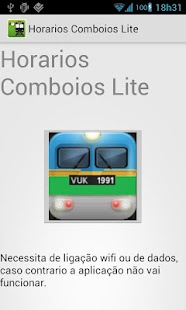 Train Schedule Lite Portugal - screenshot thumbnail