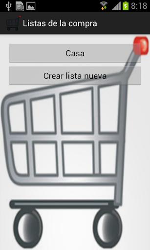 Mi lista de la compra al día