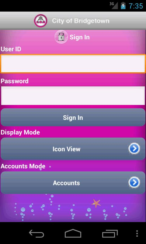 C.O.B. Mobile Banking - screenshot