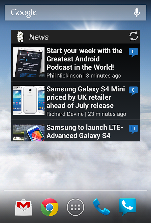 Android Central - The App! - screenshot