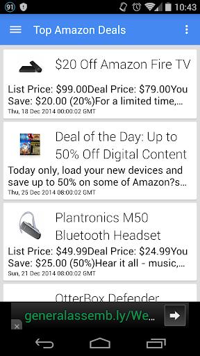 Top Amazon Deals