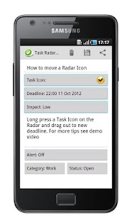 Task List - Task Radar Free- screenshot thumbnail