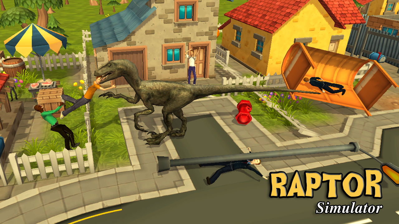 Raptor dinosaur simulator 3d android apps on google play for Simulatore 3d