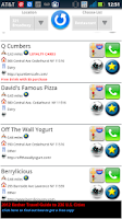 Screenshot of Kosher Restaurants GPS