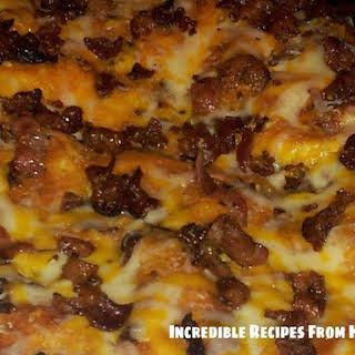 Bacon, Egg & Cheese Biscuit Bake.