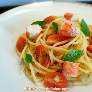 Lemon Basil Alaskan Crab Pasta Recipe