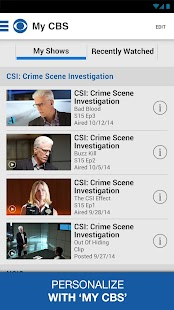 CBS - screenshot thumbnail