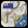 Nouvelle-Zélande Topo Maps Pro