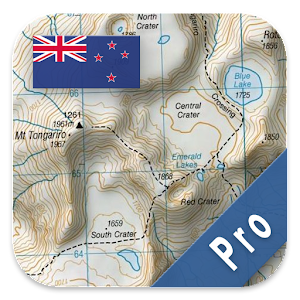 New Zealand Topo Maps Pro