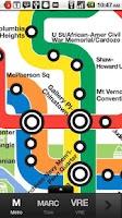 Screenshot of DCMate (Metro, VRE, Marc, Bus)