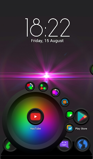 Next Launcher Theme Nagaybak