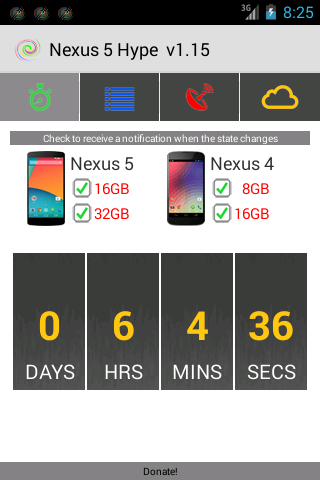 Nexus 5 Hype - screenshot