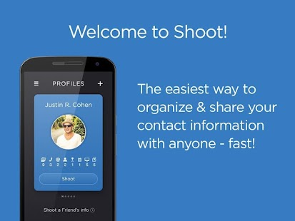 Shoot Contact Sharing- screenshot thumbnail