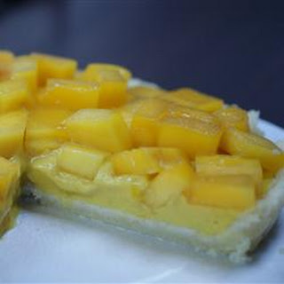 Mango Custard Pie.