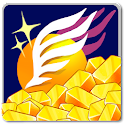 Lottery flight -sudden wealth- icon