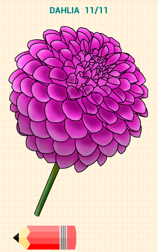 How to draw flowers android apps on google play for How to draw a hard flower