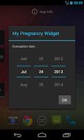 Screenshot of My Pregnancy Widget