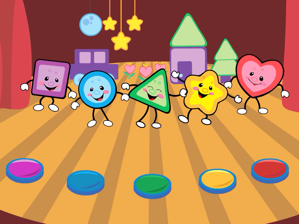 Worksheet Shapes And Colors For Kids shapes colors music show android apps on google play screenshot