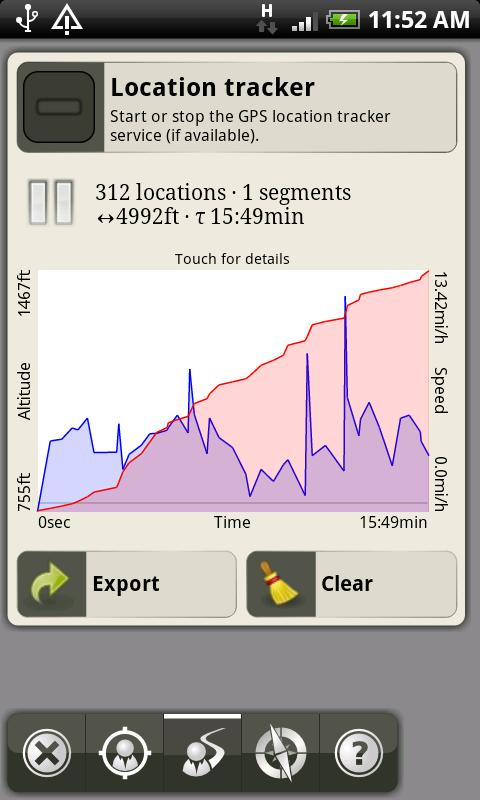 AlpineQuest GPS Hiking - screenshot