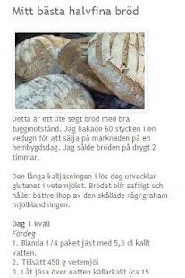 Bröd att baka på jäst o surdeg- screenshot thumbnail