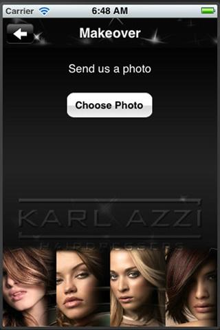 Karl Azzi Hairdressers- screenshot