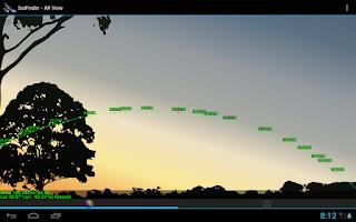 Screenshot of SatFinder - Find TV Satellites