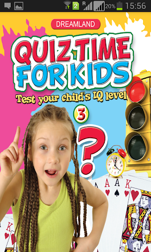 Quiz Time Age 5+