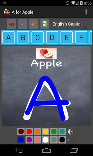 Kids Learning: A for Apple