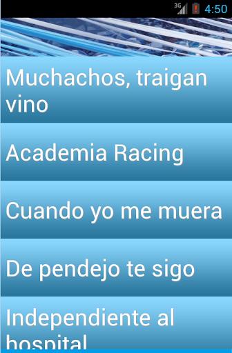 Ringtones Hinchada Racing Club
